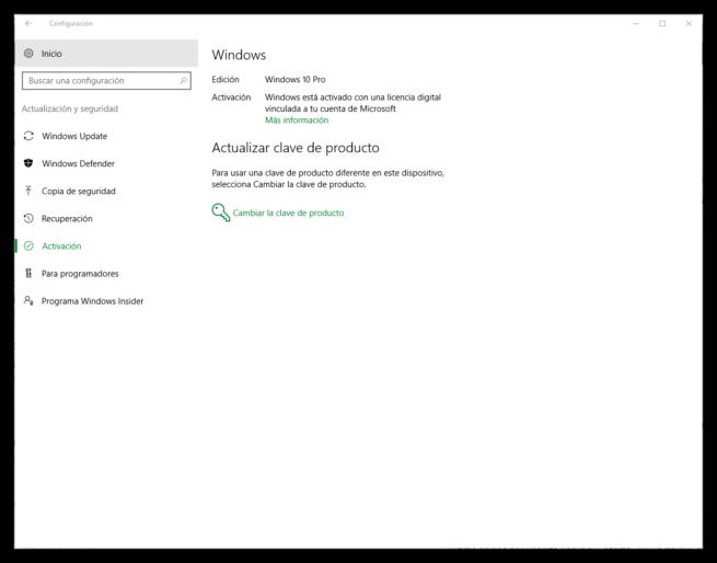 Clave Windows 10 Anniversary Update asociada a cuenta Microsoft