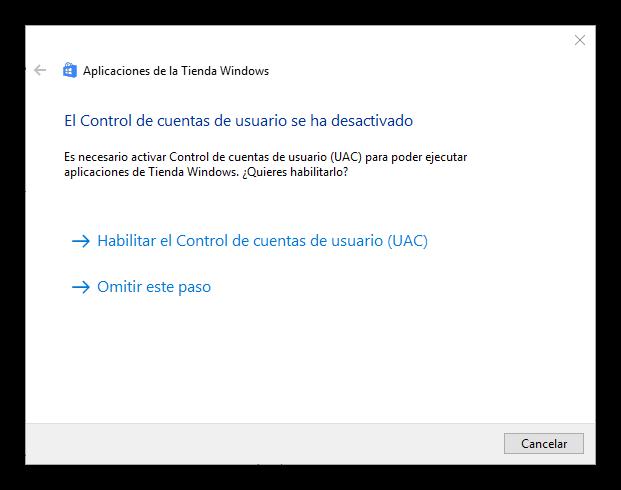 Cuenta de Microsoft en la Windows Store