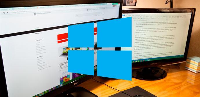 uso dos pantallas windows 10
