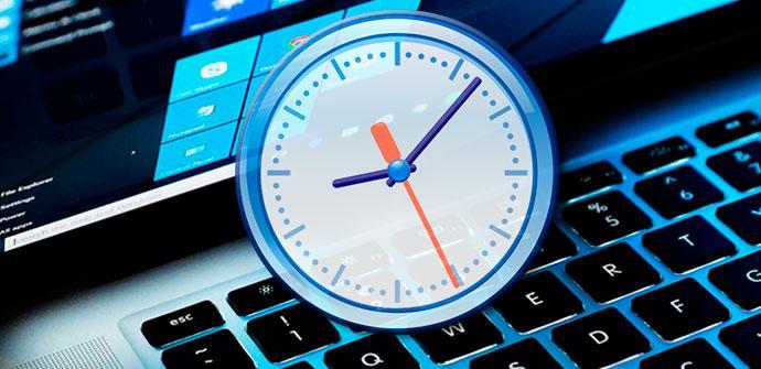Reloj Windows 10