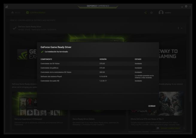 Driver Nvidia 375.63
