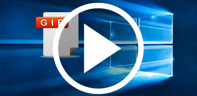 Cómo poner un GIF o vídeo de fondo de escritorio en Windows