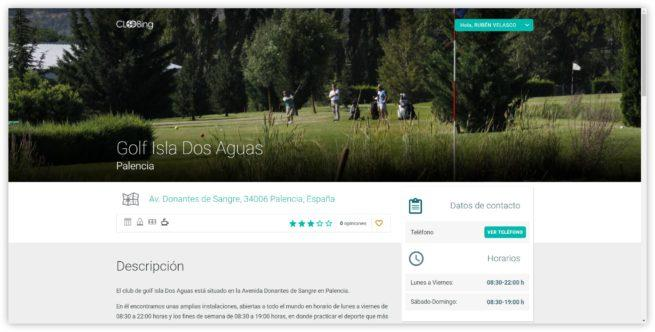 Golf Isla Dos Aguas - Cloobing