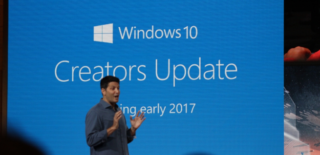 Windows 10 Creators Update - Conferencia