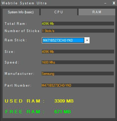 Webtile System Ultra