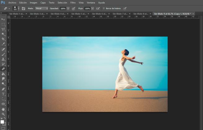 recortar silueta con Photoshop