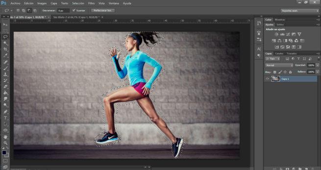 efecto movimiento photoshop
