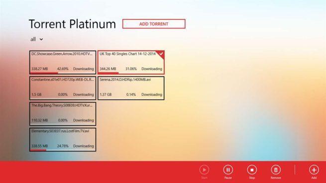 Captura Torrent Platinum
