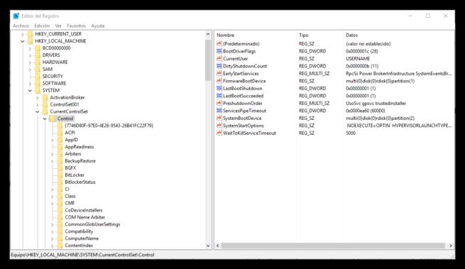 Editor de registro bloqueo copia USB