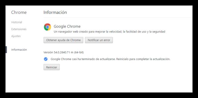 Google Chrome 34