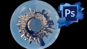 Aprende a crear tu Pequeño Planeta o Tiny Planet con Photoshop