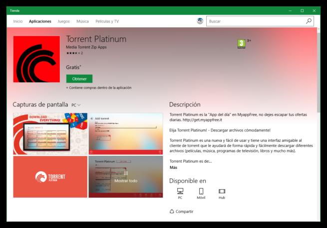 Torrent Platinum Gratis