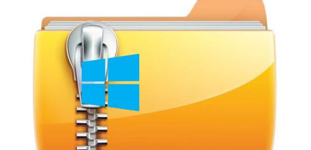 compresor archivos windows