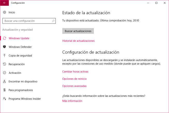 Windows 10 consuma parte de nuestro ancho de banda