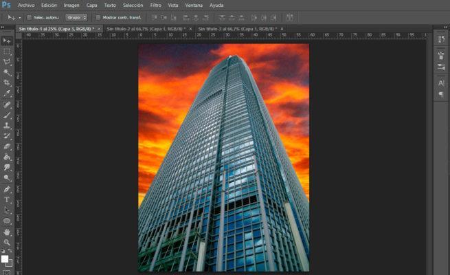 Lazo poligonal photoshop