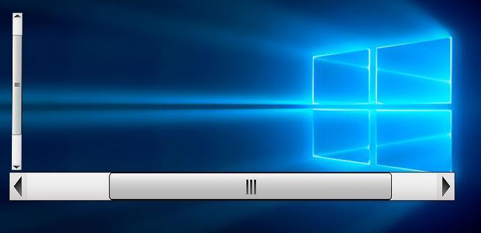 tamaño scroll en windows