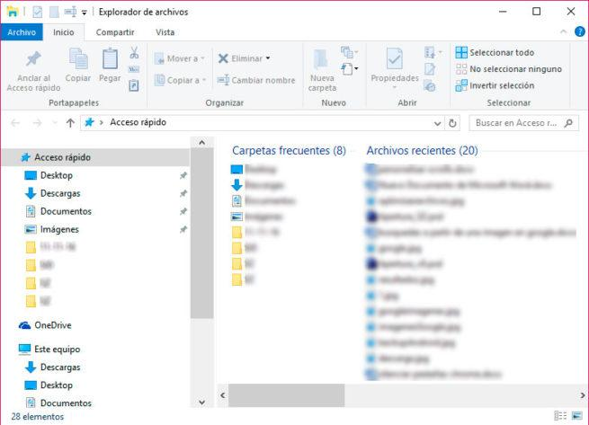 tamaño del scroll en las ventanas de Windows