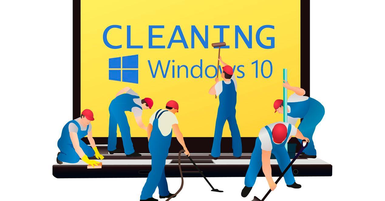 Limpieza de Windows 10