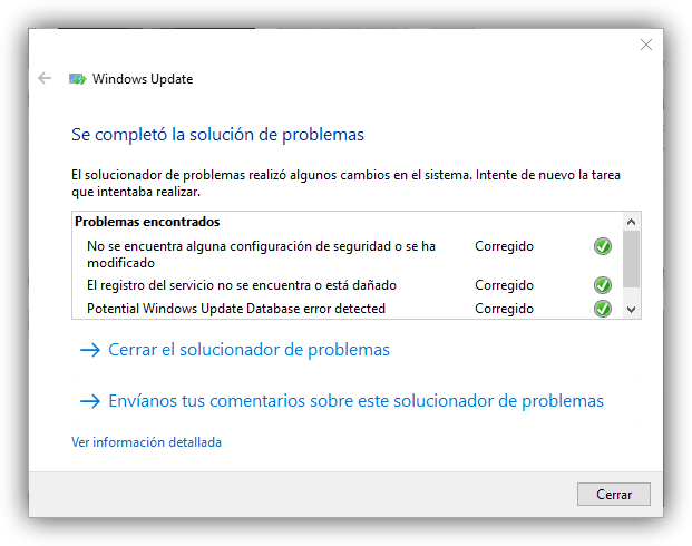 Windows Update Fix - Solucionar problemas al Actualizar Windows