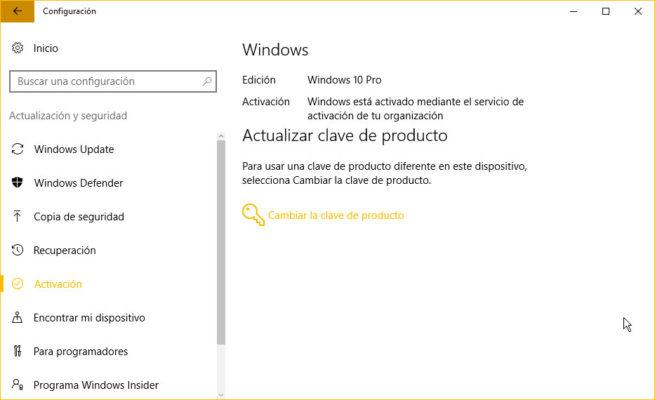 activación windows 10