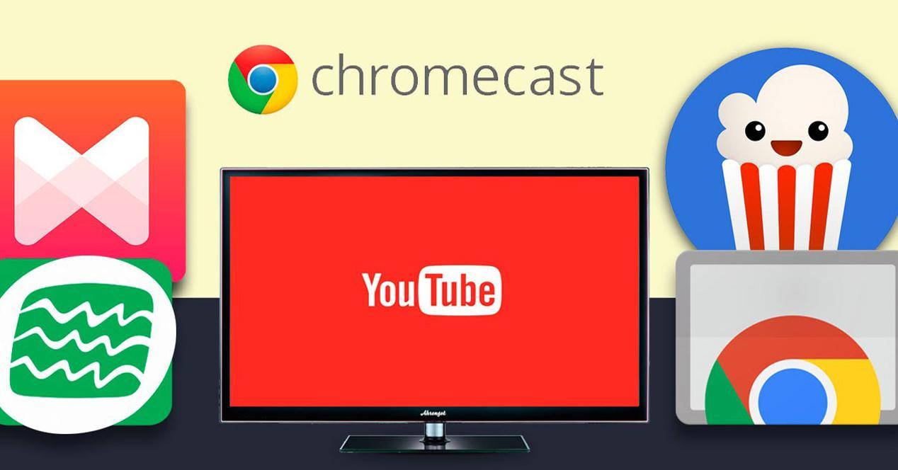 Aplicaciones compatibles Chromecast