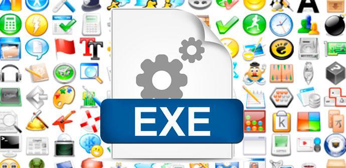 iconos archivos .exe