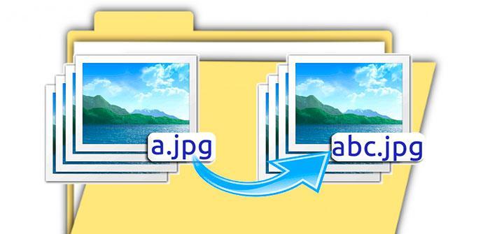 archivos renombrados