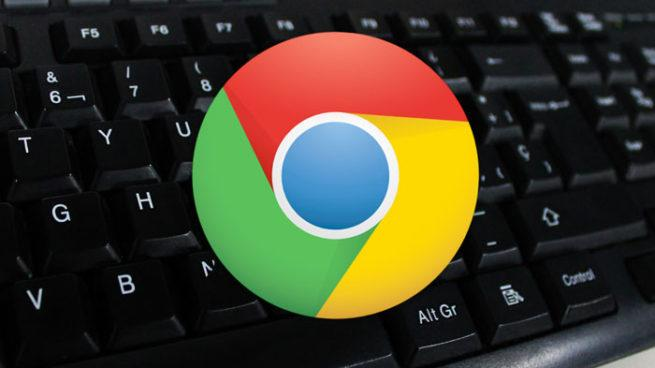 Atajos de teclado Chrome
