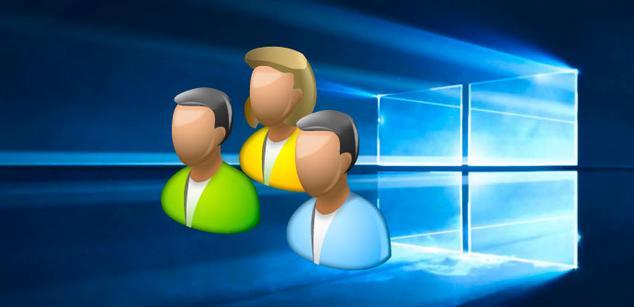 Cuentas de usuario Windows 10