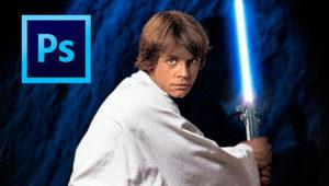 Cómo crear una espada láser con Photoshop