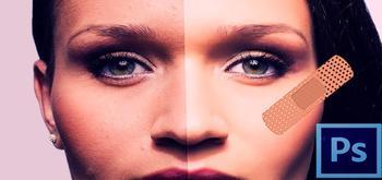 Cómo usar las herramientas de corrección de Photoshop