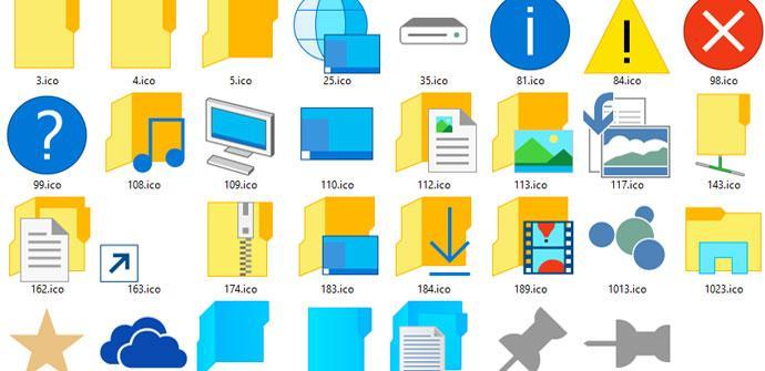 Iconos Windows 10