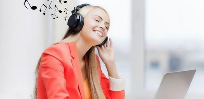 música organizada en el PC