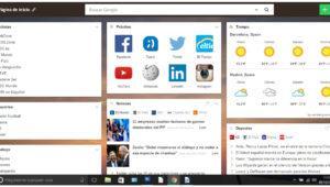 Personaliza al máximo la página de inicio en tu navegador con Start.me