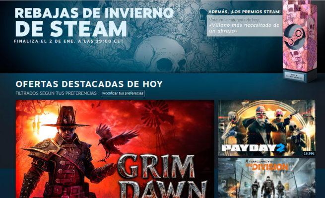 ofertas de invierno de Steam