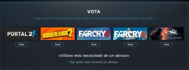 votaciones steam