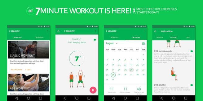 Ejercicio 7 minutos en Android