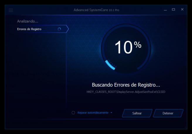 Advanced SystemCare 10 - Optimizando ordenador