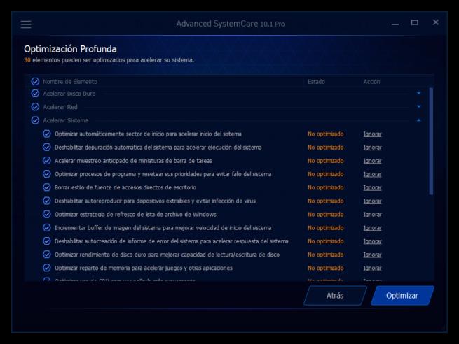 Advanced SystemCare 10 - Optimizar ordenador