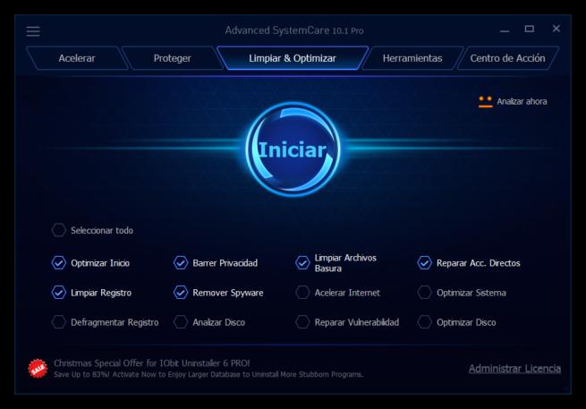 Advanced SystemCare 10 - Principal