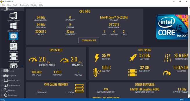 Información hardware