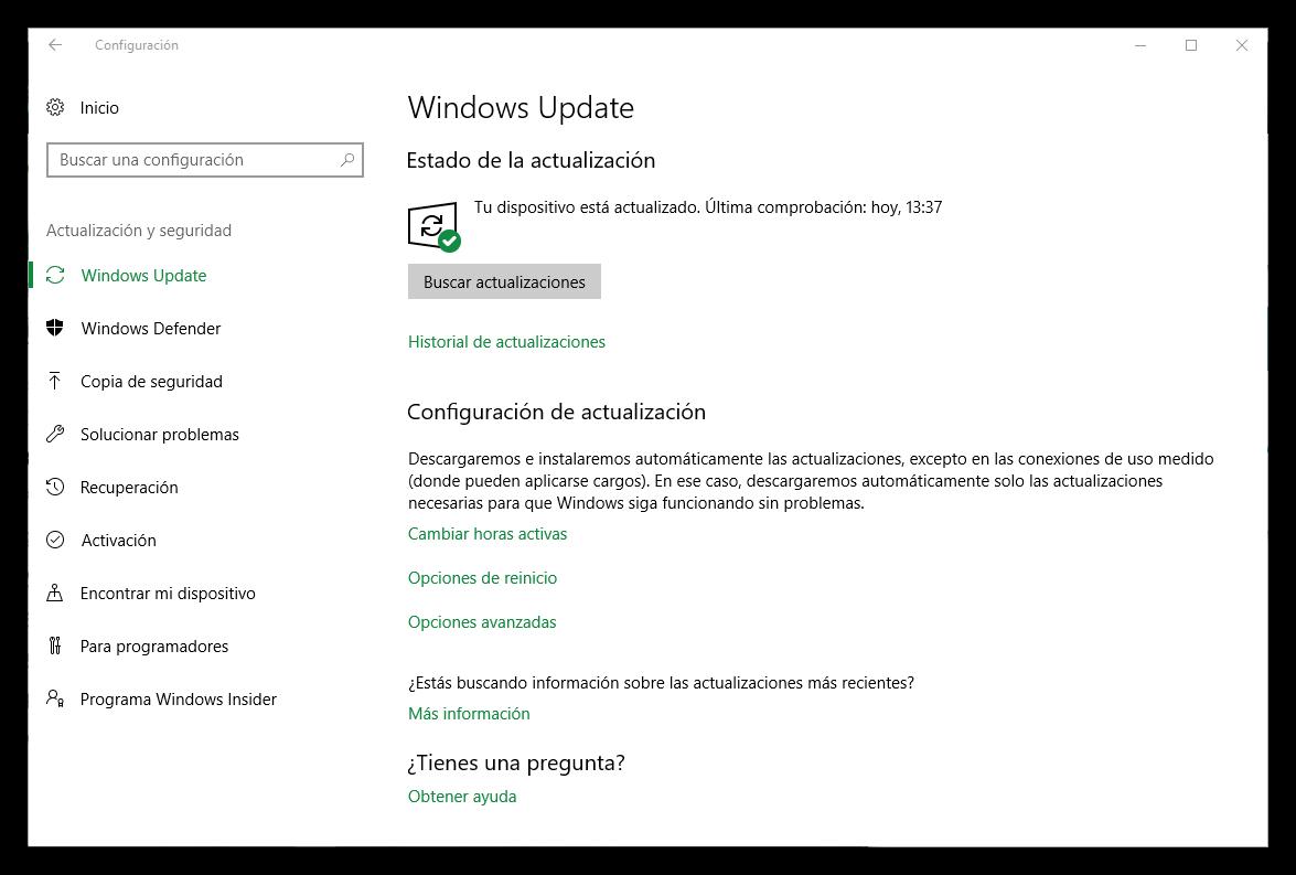 Cómo pausar hasta 35 días las actualizaciones de Windows 10 Creators ...