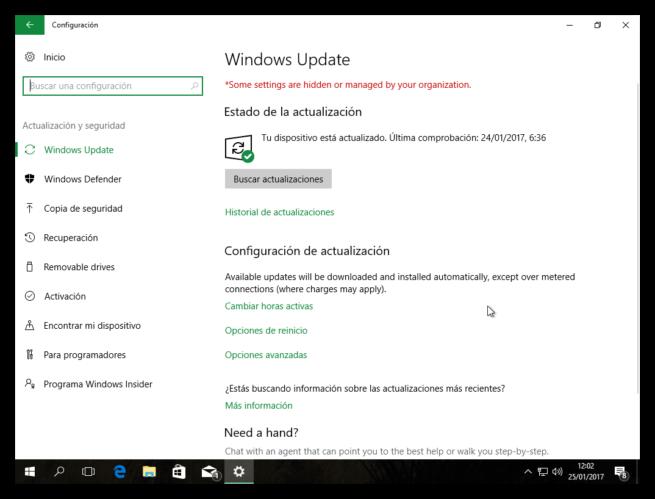 Windows Update Windows 10 Creators Update
