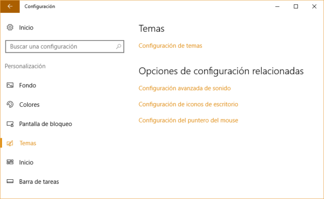 desinstalar temas Windows 10