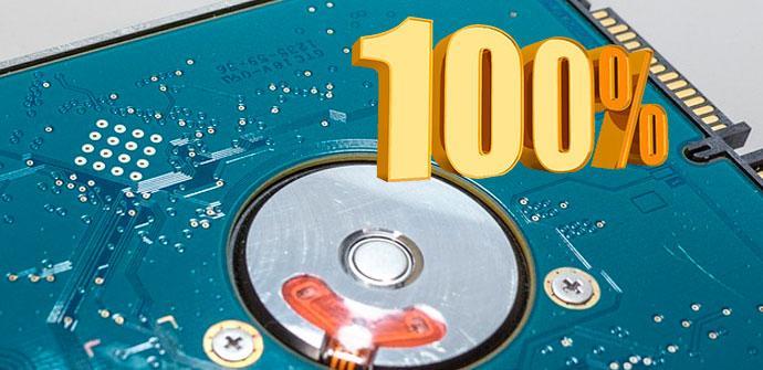 error disco 100%