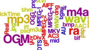 Diferencias entre los principales formatos de audio actuales