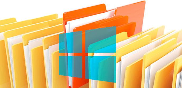 historial de archivos de windows