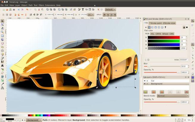 Diseño vectorial Inkscape