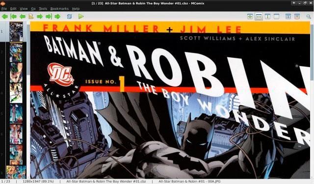 Leer cómics, tebeos y mangas en el ordenador