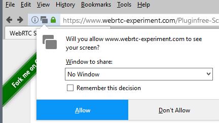 sistema de permisos Firefox
